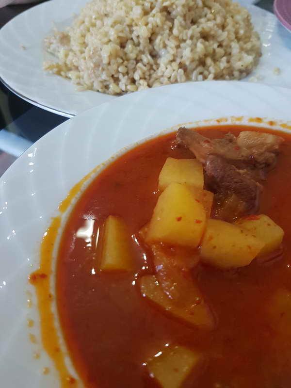 Gaziantep usulü salçalı patates yemeğinin tarifi
